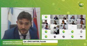 """Posadas libre de pirotecnia sonora: """"Con esta ordenanza dimos un gesto de amor"""", expresó López Sartori"""