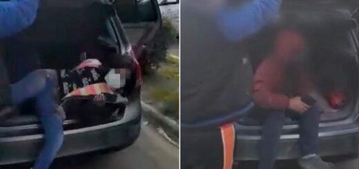 Coronavirus: detuvieron en Buenos Aires a una pareja que llevaba a sus hijos de 12 y 13 años escondidos en el baúl del auto