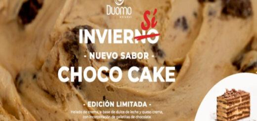 """Duomo Helados lanzó un nuevo sabor de edición limitada: """"CHOCO CAKE"""""""