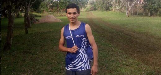 Agustin Da Silva, un atleta misionero que corre por un sueño