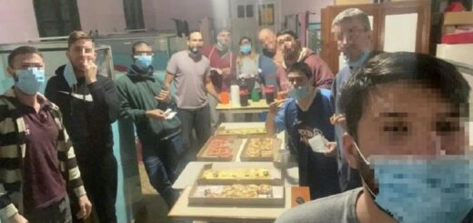 Coronavirus en Entre Ríos: los jóvenes aislados por compartir un mate se juntaron a comer pizza en el hospital