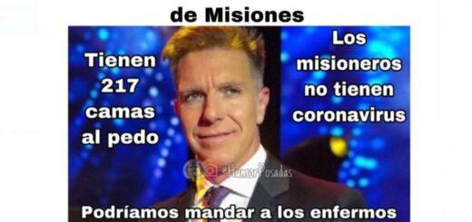 El ingenio popular respondió con memes la ocurrencia de Fantino de mandar contagiados a curarse a Misiones
