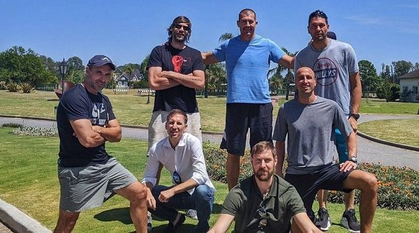 Deportes: Fabricio Oberto quiere juntar a la «Generación Dorada» para jugar el Mundial de Maxibásquet