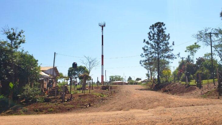 Se continúa ampliando la red 4G en Misiones, donde yahay 80 localidades con esta tecnología