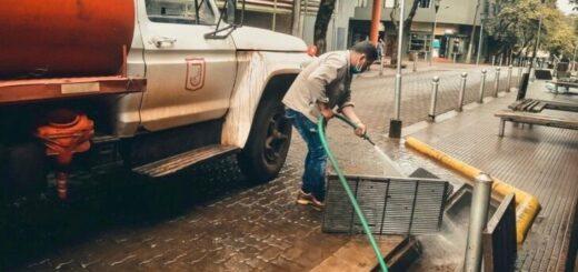 En Eldorado trabajan en la limpieza, mejora y embellecimiento de la ciudad