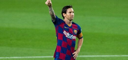 Barcelona va por la cima en soledad y Messi por su gol 700