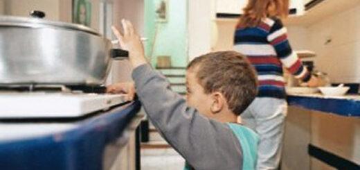 Posadas: durante la cuarentena, se incrementó el número de niños accidentados en sus casas