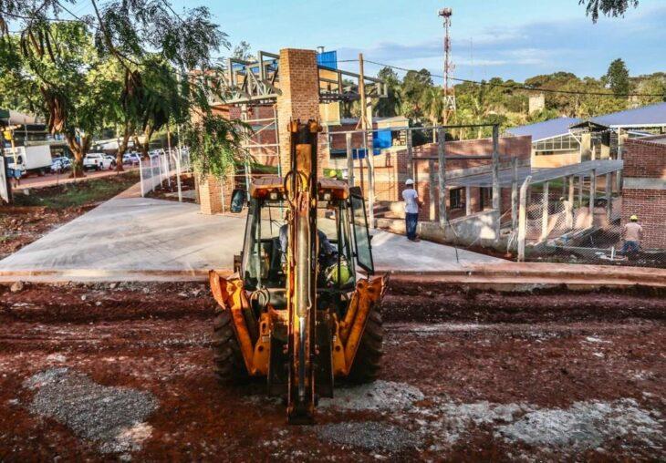 Eldorado: las obras de la primera etapa del Mercado Concentrador se encuentran en un 90% y se prevé inaugurar este año