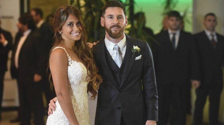 El tierno video de Antonela Roccuzo con Lionel Messi por su aniversario de casados