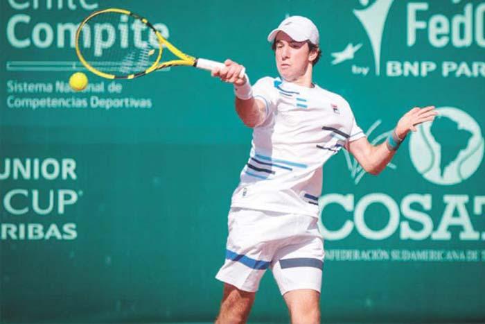 Ezequiel Monferrer, tenista de la tierra colorada se ilusiona con poder competir este año
