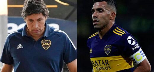 """El """"Patron"""" Bermúdez cargó contra Tevez en Twitter y se agranda la grieta en Boca"""