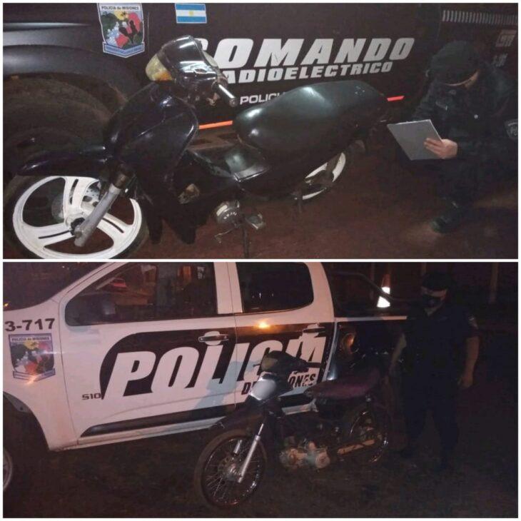 Detienen a 11 personas y secuestran dos motos en operativos realizados en Posadas y Garupá
