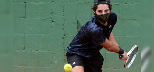 """Thiago Messa, tenista misionero: """"Hay que tener paciencia y no dejar las metas de lados"""""""