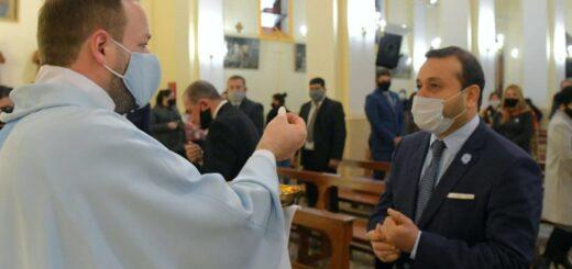 El Gobernador de Misiones participó en la misa y el tedeum por los 204 años de la declaración de la independencia