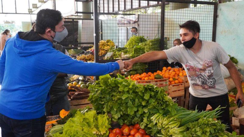 Productores del Mercado Concentrador continuaron vendiendo en cuarentena
