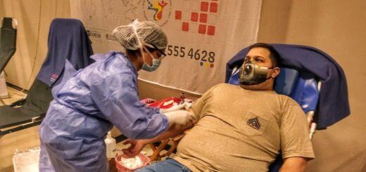 """Luis Franco, paciente recuperado de coronavirus volvió a donar plasma """"la verdad que para mí fue un gusto, me sentí lleno de orgullo"""", comentó"""