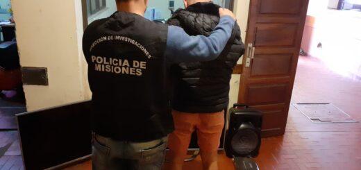 Posadas: en un allanamiento, la Policía secuestró dinero, armas de fuego, objetos robados y marihuana