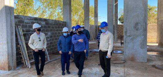 Herrera Ahuad visitó la nueva planta que generará energía a partir de biomasa desde Cerro Azul