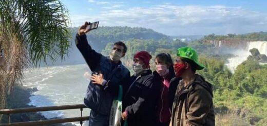 Se agotó el cupo de 200 iguazuenses para visitar las Cataratas