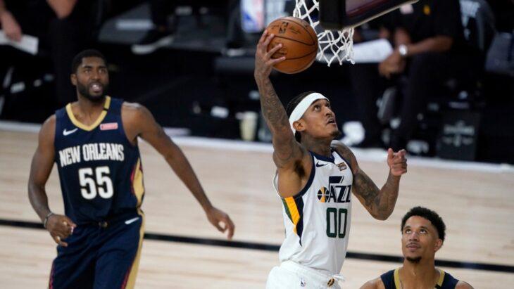 Volvió la NBA con victoria de Utah sobre New Orleans