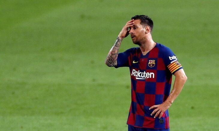 Explotó Lionel Messi: «Si seguimos así, el partido ante Napoli también lo vamos a perder»