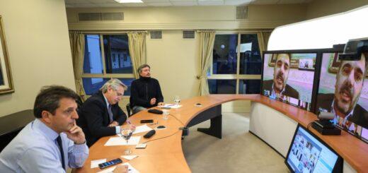 El Presidente mantuvo una videoconferencia con referentes del interbloque Juntos por el Cambio de ambas cámaras