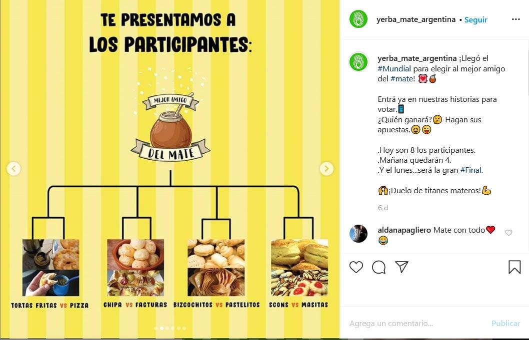 """La Comunidad Matera eligió la Torta Frita como """"la mejor amiga del mate"""""""