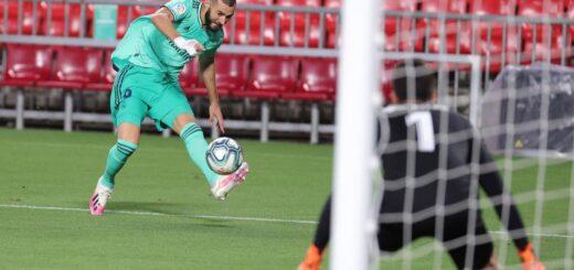 El Real Madrid sufrió, pero venció al Granada y acaricia un nuevo título de La Liga