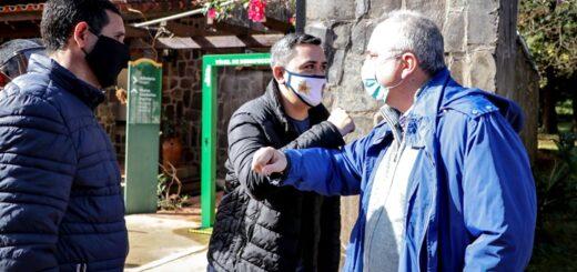En la vuelta del turismo interno, Passalacqua participó de la reapertura de la misión jesuítica de Loreto y visitó un emprendimiento hotelero en Santa Ana