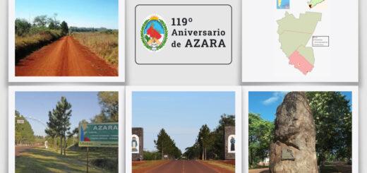 La localidad de Azara celebra hoy su 119° Aniversario