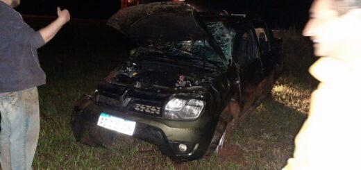 Gobernador Roca: despiste sin lesionados y con daños materiales