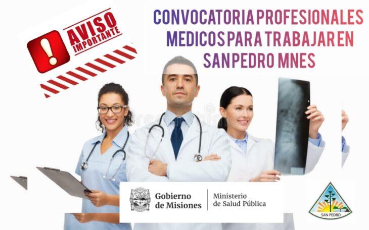 El ministerio de Salud Pública convoca a médicos especialistas para el hospital de San Pedro