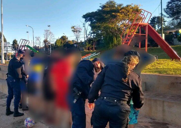 Procedimientos policiales terminaron con siete detenidos en Posadas
