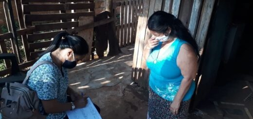 Siguen los operativos de vacunación antigripal en los barrios posadeños