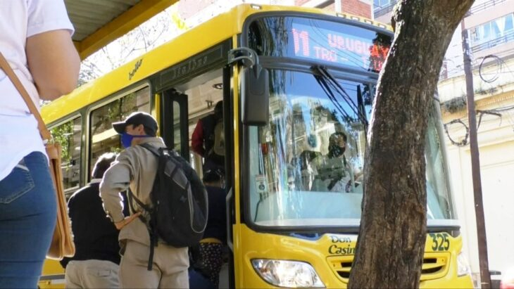 """Transporte público: """"Solicitamos a las empresas que pongan más colectivos en la calle"""" indicaron desde Municipalidad de Posadas"""