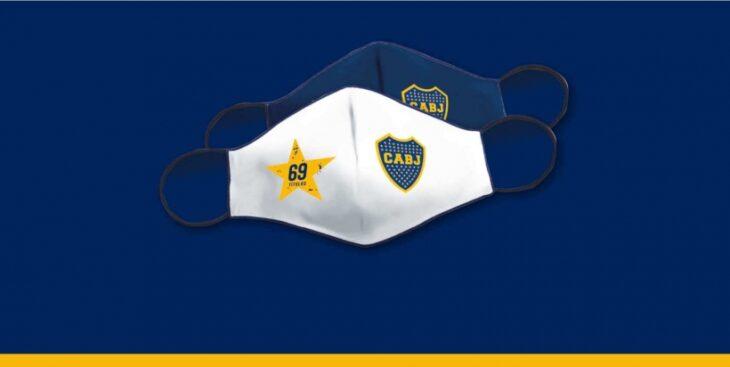 Coronavirus: Boca Juniors regalará barbijos personalizados a los socios de Misiones