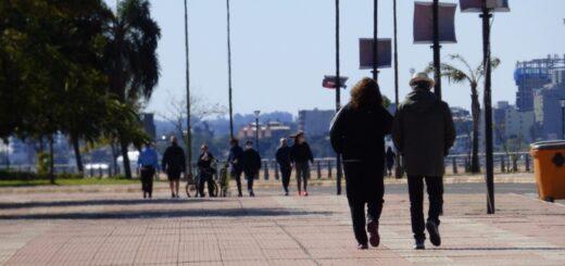 Coronavirus: los posadeños disfrutaron de una nueva jornada de caminatas recreativas