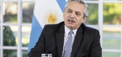 """Alberto Fernández, sobre la Ley Micaela: """"Es nuestra tarea construir una Argentina libre de violencias"""""""