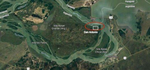 Correntinos renuevan reclamos a Nación por definiciones en conflicto con Paraguay por la Isla Apipé