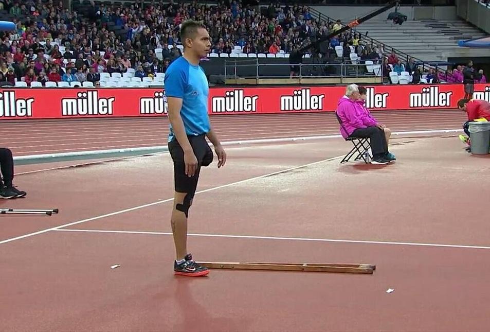 Jonathan Avellaneda atleta paralímpico sueña con decir presente en Tokio 2021