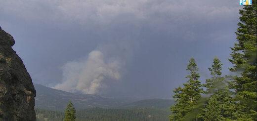 EEUU: se extiende un gran incendio forestal en el Norte de California quemando cerca de 5 mil hectáreas y hay miles de evacuados en Susanville