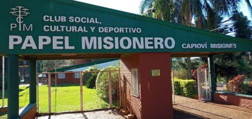 """El Club Papel Misionero fue uno de los beneficiados con el programa """"Clubes a la Obra"""" en la provincia"""
