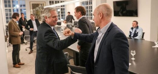 Alberto Fernández se reunió con Horacio Rodríguez Larreta en Olivos