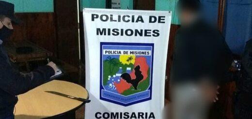 En San Vicente un violento se atrincheró con su hijo de dos años y amenazó con matarlo y luego quitarse su propia vida