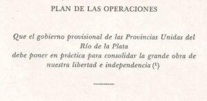 El Plan de Operaciones, ¿mito o realidad?