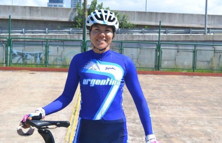 Mariela Delgado, ciclista misionera entrena en Catamarca pensando en futuras competencias