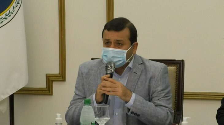Oscar Herrera Ahuad anunció un aumento salarial para estatales a partir de octubre