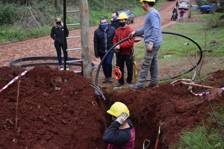 El flamante municipio de Salto Encantado tendrá habilitado desde este martes el nodo de fibra óptica de Marandú
