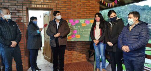 El vicegobernador Carlos Arce  inauguró direcciones municipales de niñez y adolescencia