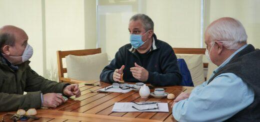 Coronavirus: Passalacqua se reunió con referentes de la Cámara Argentina de la Construcción para analizar formas de cooperación en tiempos de pandemia